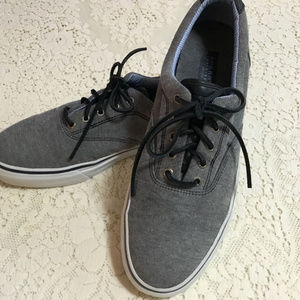 Sperry Top Sider Boat Shoes Men's 12 Gray 1048131